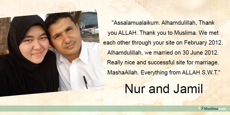 Muslima com muslim marriage