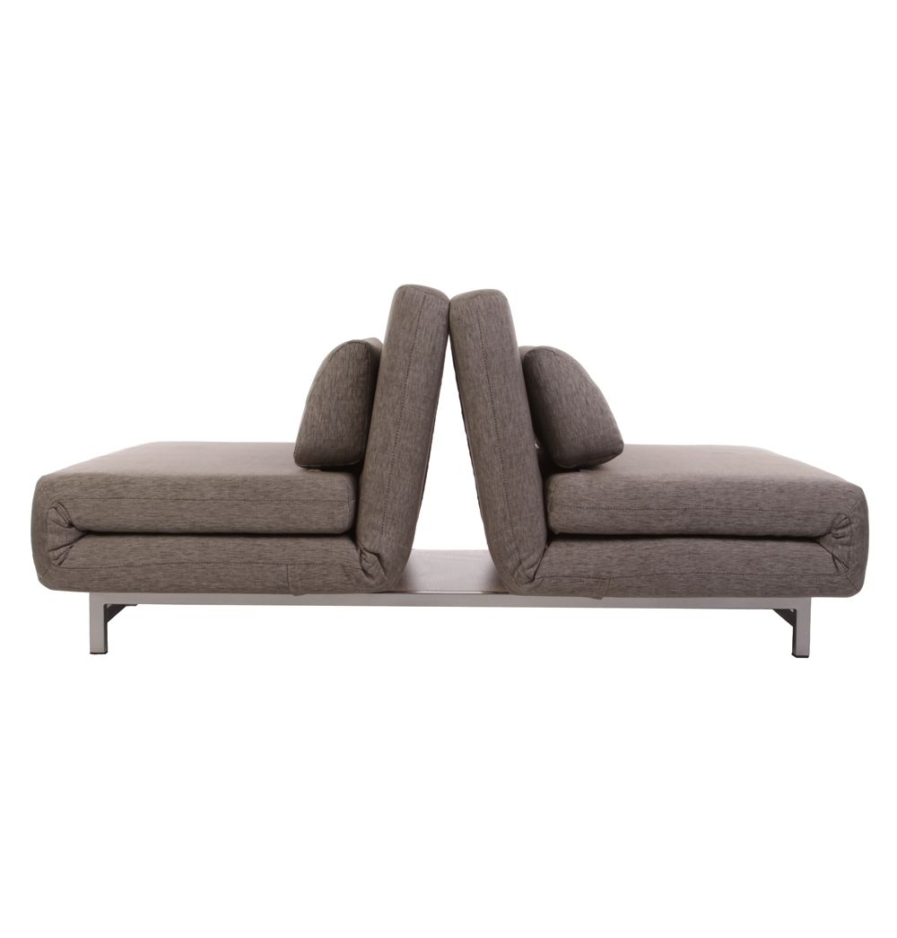 7203 Three Piece Sectional Sofa By Futura Leather: Futura Le Vele Sofa Bed - Fabric A - Matt Blatt