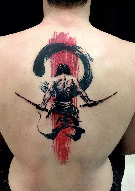 Super beautiful Chinese style tattoo, look at these Chinese style tattoos, stylish and beautiful