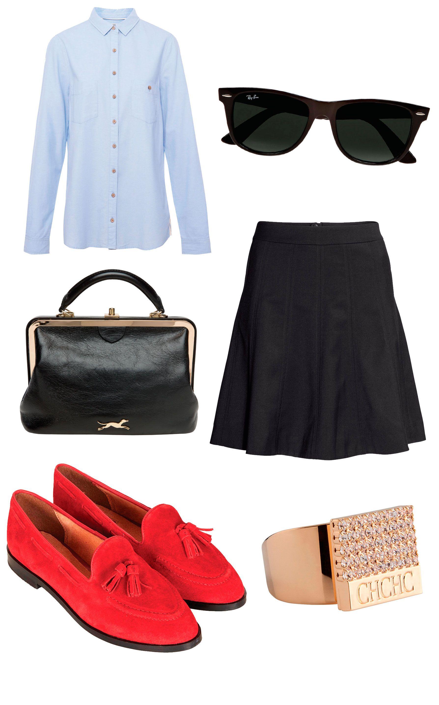 El outfit perfecto para ir a clase - Cosmopolitan