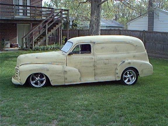 1948 Chevrolet Panel Van Photos Amp Pictures Cardomain Com