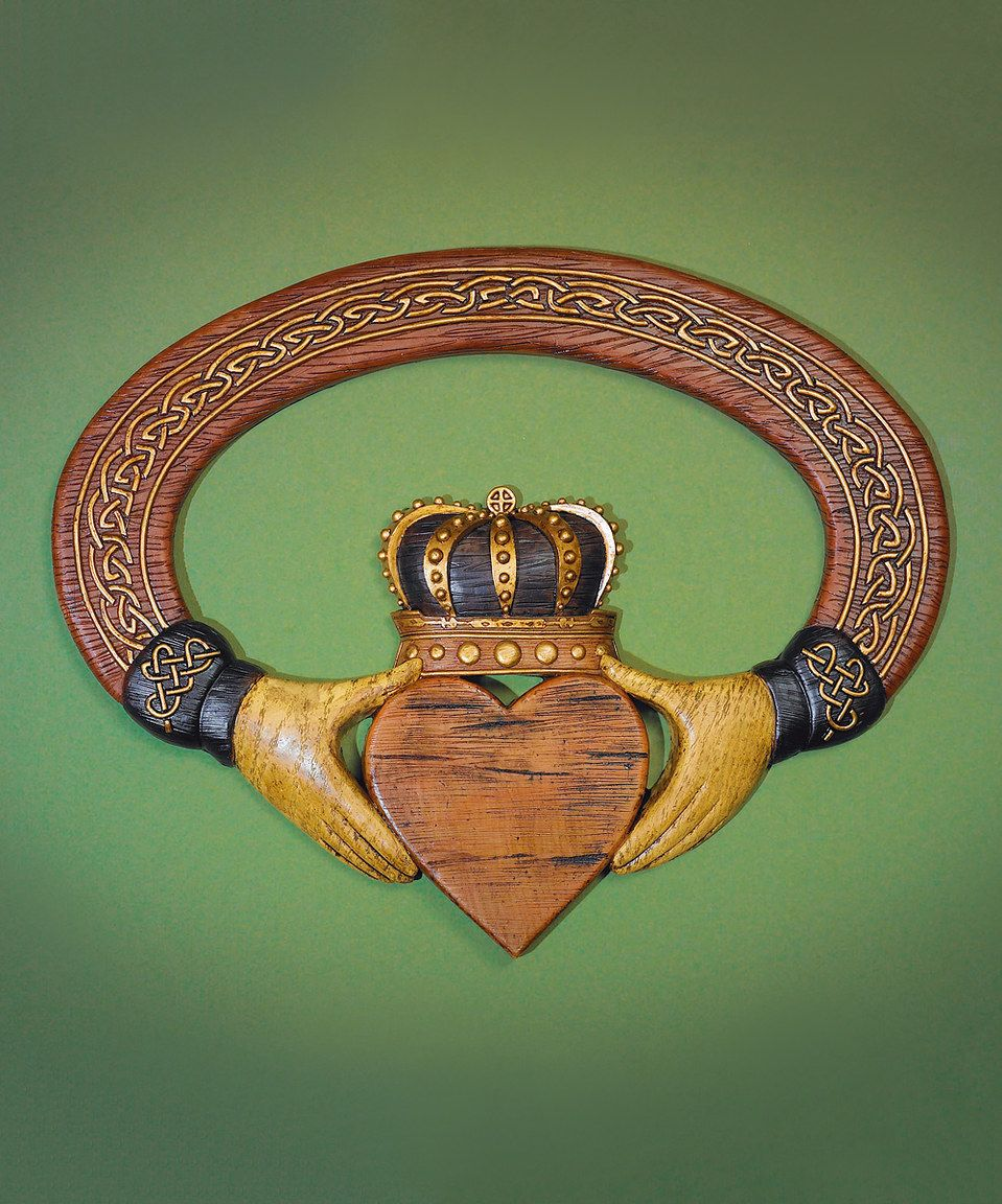 Look what i found on zulily claddagh wall art by abbey press