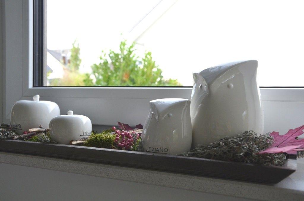 Deko Ideen Fensterbank dekoideen für die fensterbank mit eulen tiziano deko
