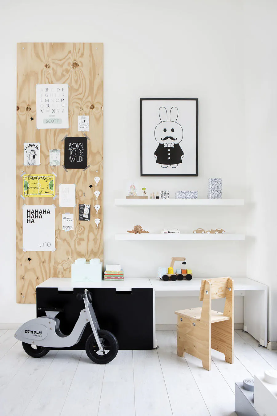 Idee Salle De Jeux Bebe une maison bateau de style scandinave | coin jeux enfant