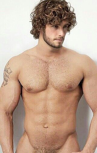 Curly-hair gay hairy guys porn