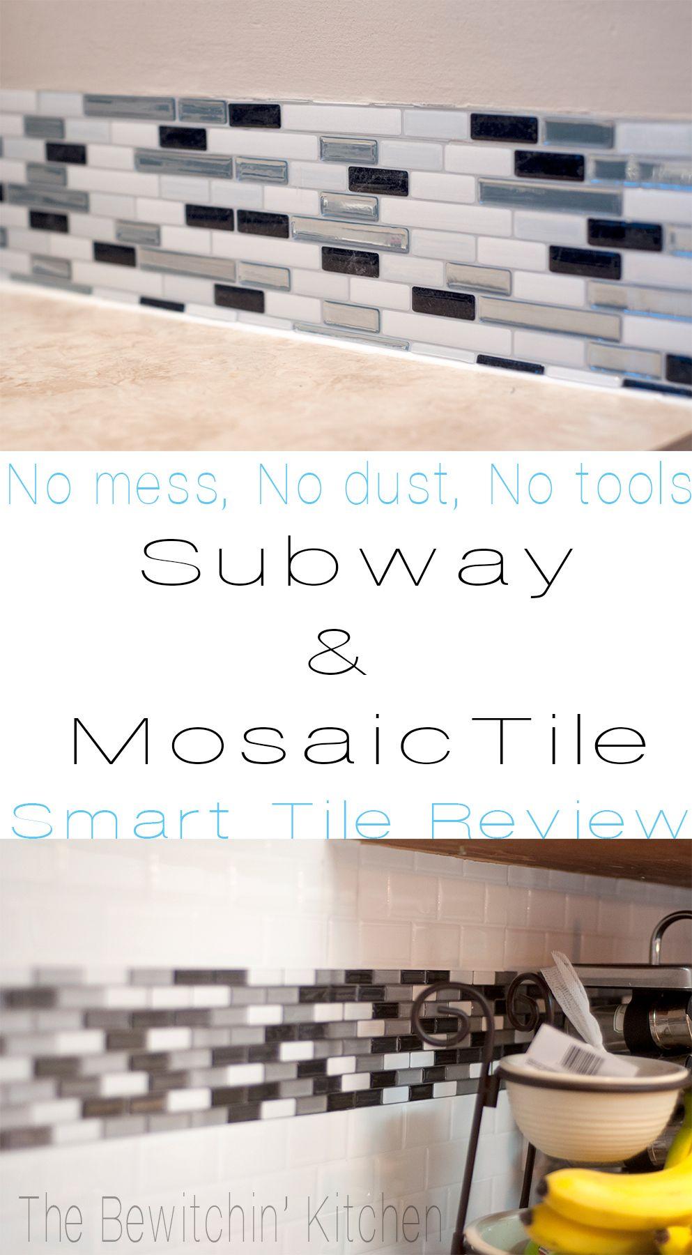 Smart Tiles Review Update Your Backsplash The Easy Way The Bewitchin Kitchen Smart Tiles Smart Tiles Backsplash Home