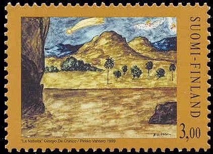 Joulupostimerkki 1999 2/3 - Maalaus -