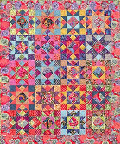 Tennessee Quilts kit love this by Kaffe fassett $ 115