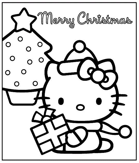 Merry Christmas Coloring Sheets - http://east-color.com ...