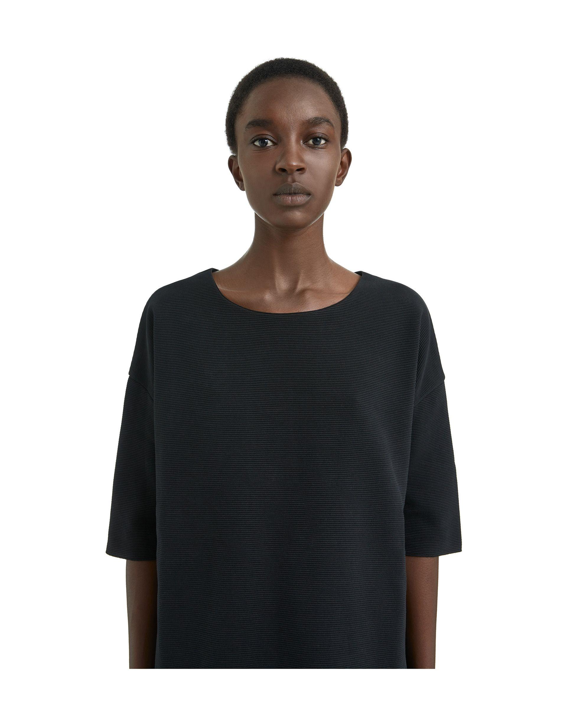 6d5c4cb0b69e1 Vestido camisero negro