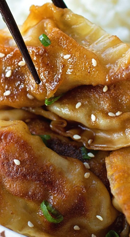 Beef Pot Stickers (Gyoza) - Life Made Simple