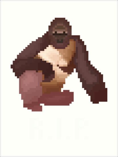 Pixel Harambe
