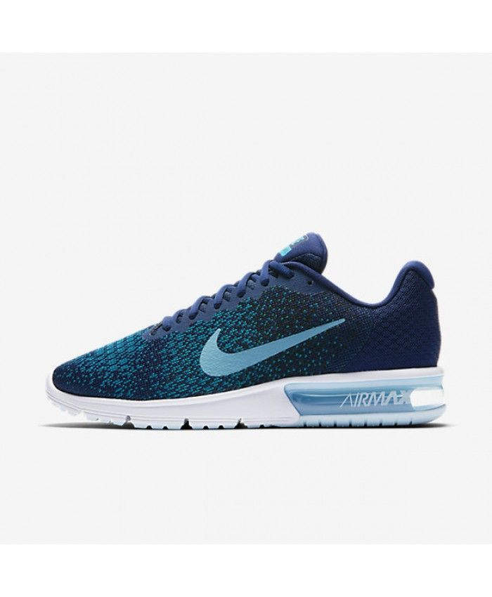 10afa00cfad3 ... Nike Air Max Sequent 2 Binary Blue Black Blustery Cerulean 852461-405  ...