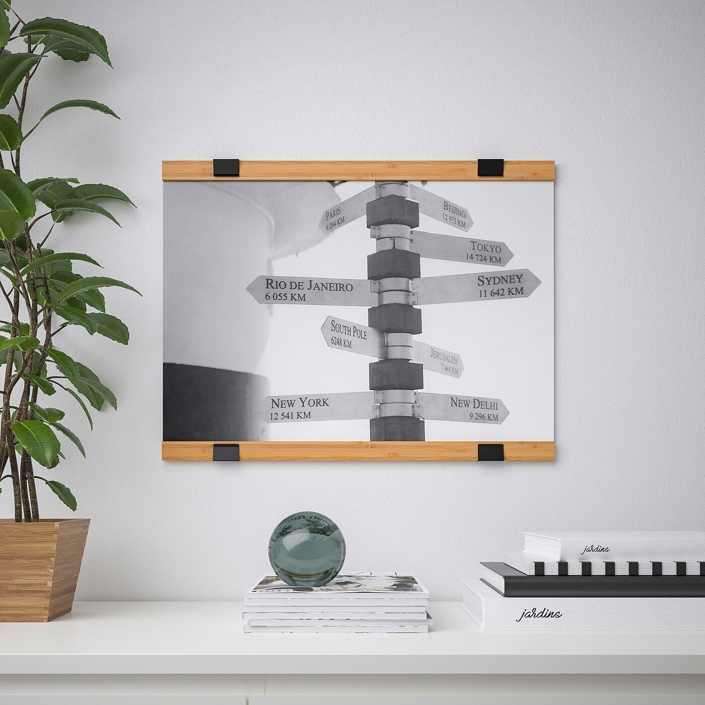 Visback Support Pour Poster Bambou Ikea Poster Hanger Ikea Ikea Catalog