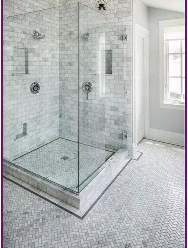 Awesome 30 Marble Tile Bathroom Flooring Ideas Marble Tile