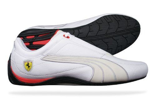 Puma Drift Cat 4 SF Carbon Ferrari Mens Leather sneakers   Shoes - White 2473e3532