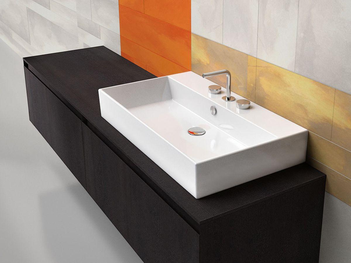 Wasbak Badkamer Plaatsen : Wasbak toilet installeren: ideavit solidcube fontein cm rechthoek