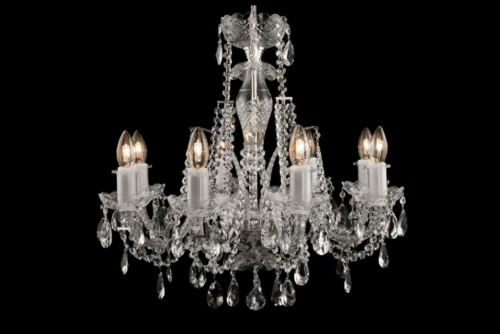 Crystal Lighting: black chandeliers, classic and modern ceiling ...