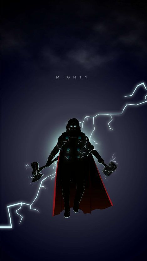 Thor From Endgame Iphone Wallpaper 4k Marvel Thor Marvel Comics Wallpaper Marvel Superheroes