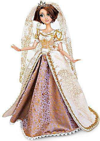 Limited Edition 4000 Rapunzel Wedding Gown Costume Tangled Disney Store 4 Dress