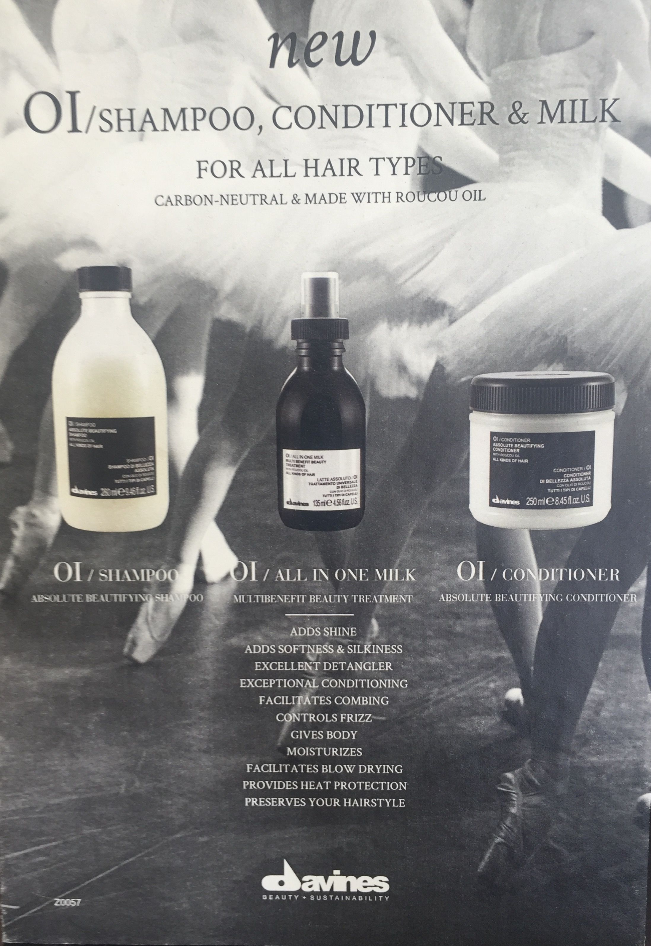 Davines hair products , carried at Salon Rosa M . davines