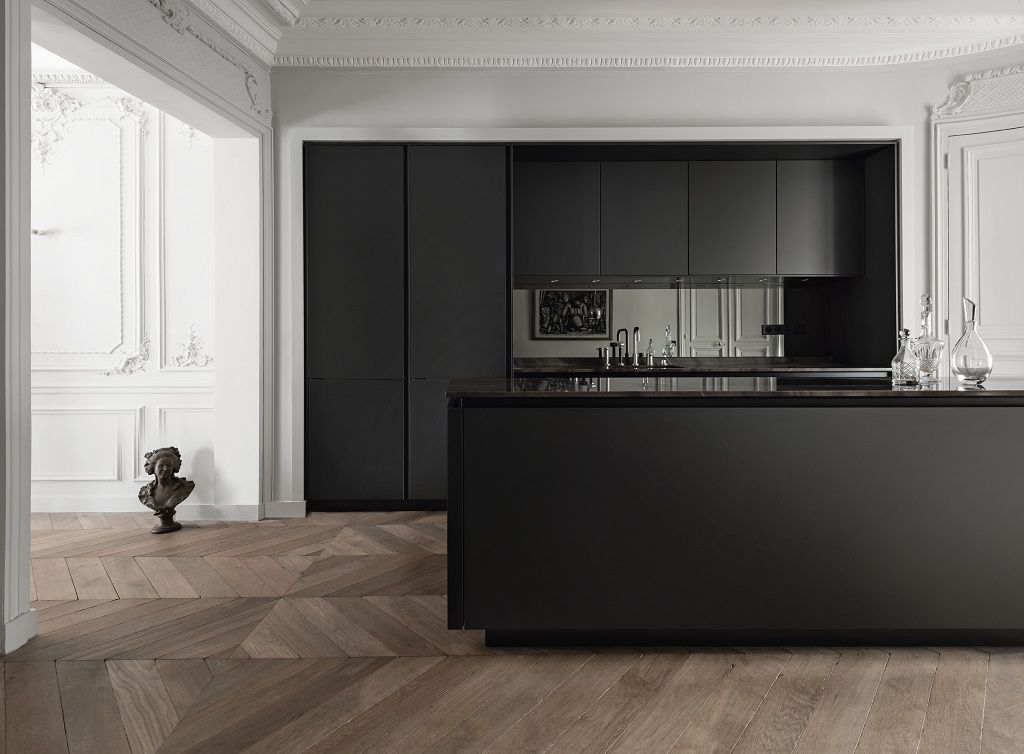 Siematic S2slm Graphite Gray Jpg 1024 754 Modern Apartment Decor Minimalist Kitchen Design Modern Interior Design