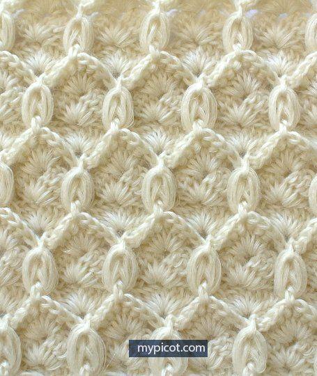 Fıstıklı Baklava Örgü Modeli Yapılışı | Knitting and crochet ...
