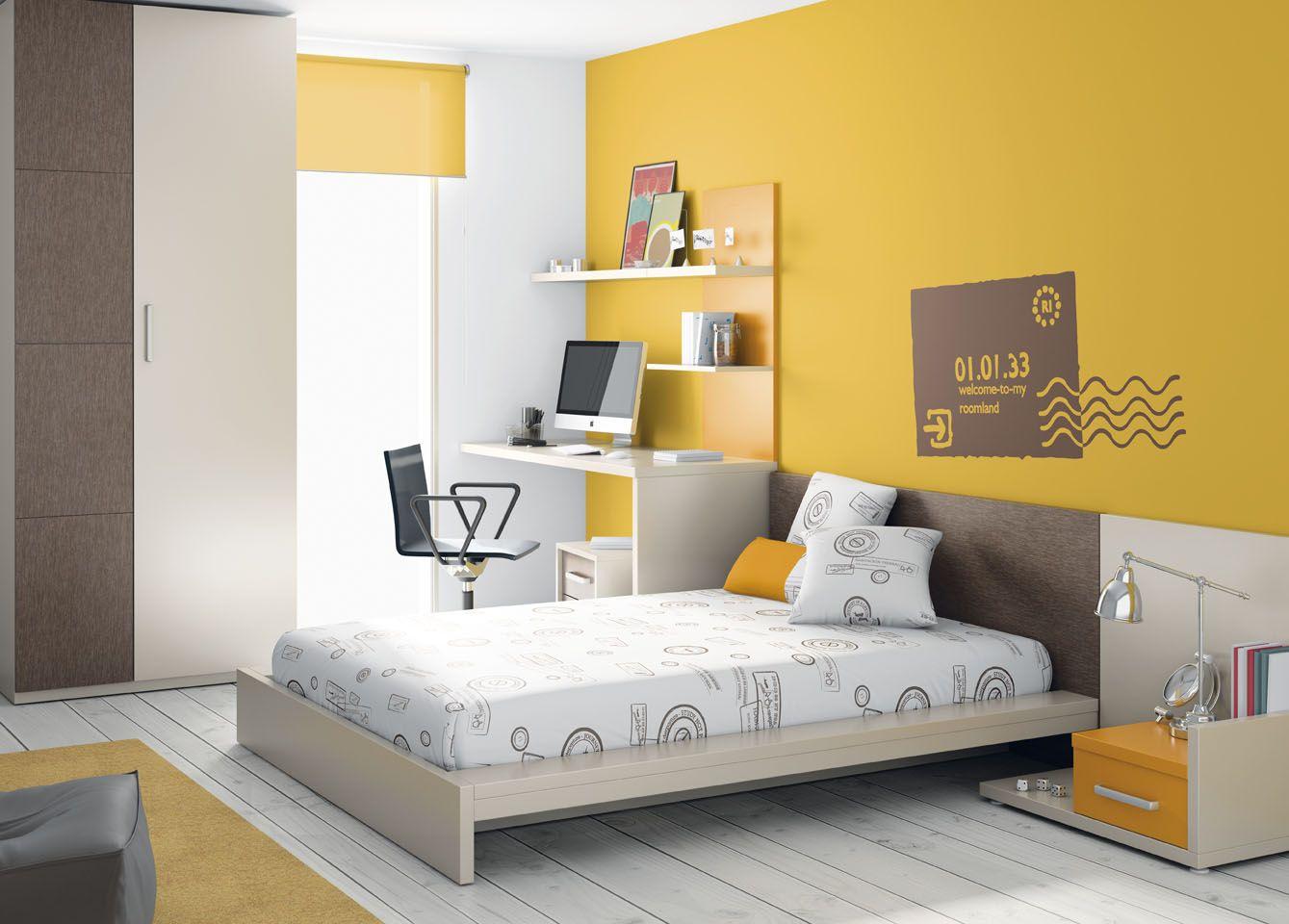 Apetece una siesta en una habitaci n de muebles ros for Catalogo de habitaciones juveniles