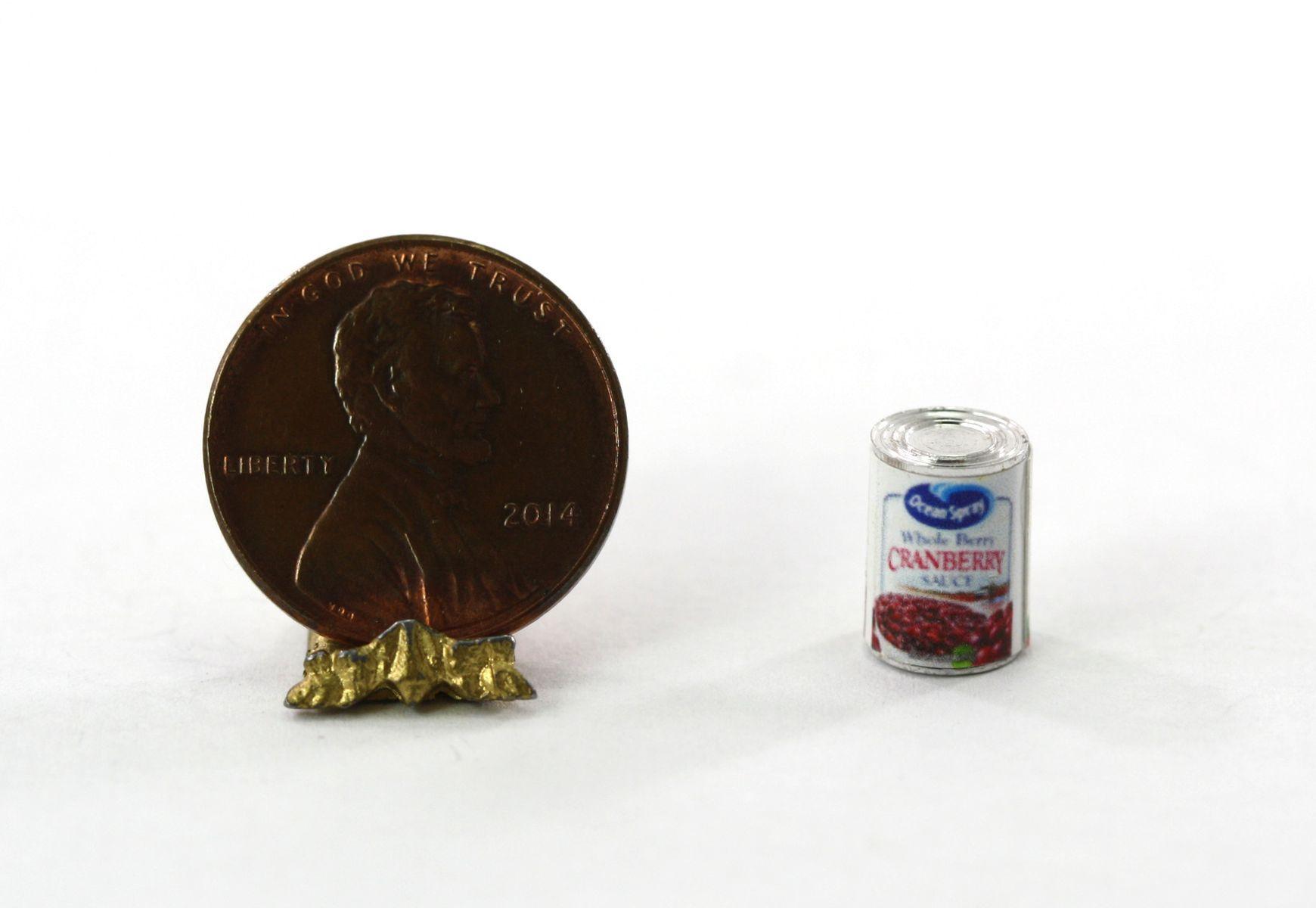 Miniature Gold tone Gravy Boat w// tray for dollhouse 1:12
