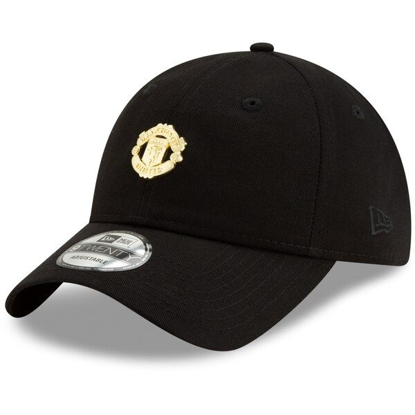 Manchester United New Era Mini Crest 9TWENTY Adjustable Hat - Black #ManchesterUnited Prove your loyalty to Manchester United with this Mini Crest 9TWENTY hat. It's an adjustable cap with unique graphics that are guaranteed to shout out your favorite team in the coolest way. When you wear this sweet New Era hat everyone will know that you're devoted to Manchester United.