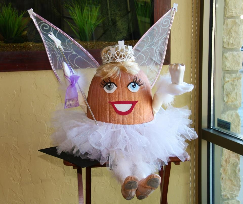 tooth fairy pumpkin dental | Pumpkin decorating contest ...