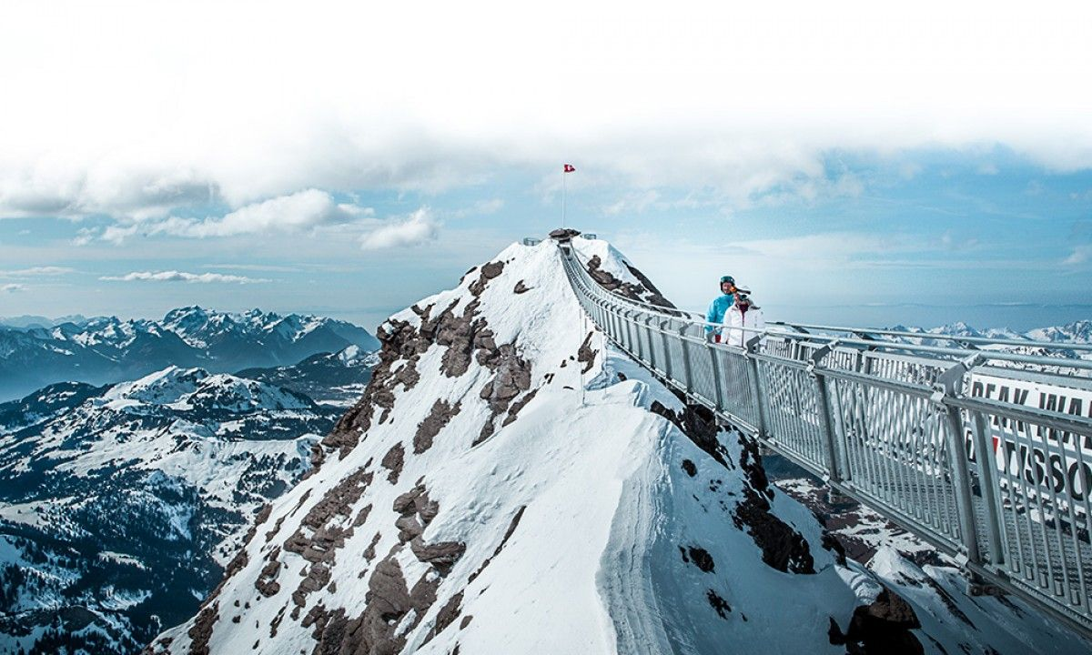 The first and only suspension bridge to connect two mountain peaks is open.