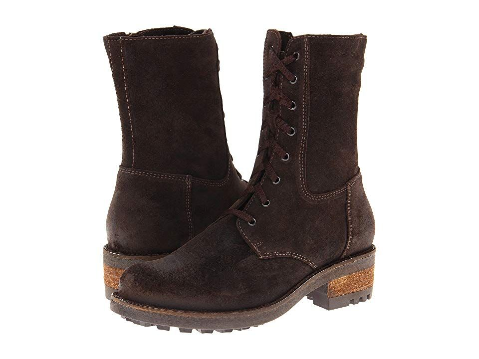 La Canadienne Carolina Women S Dress Boots Brown Oiled