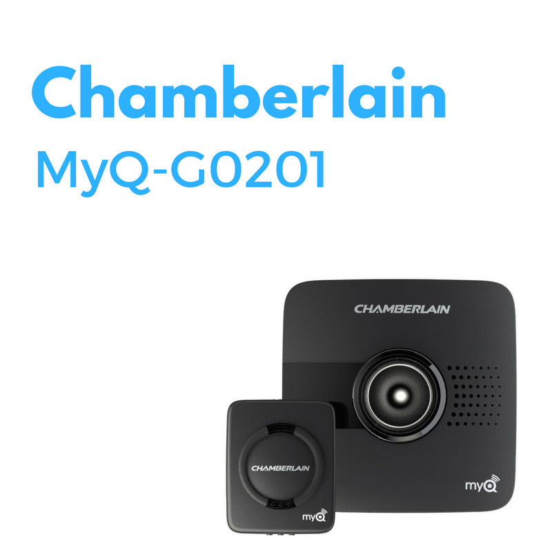 The Chamberlain Myq System Which Lets You Remotely Monitor Your Garage Door From The Free App The Myq System Includes A Garag Garage Door Sensor Garage Doors Garage Door Opener