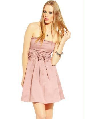 08535f246 Vestido Tomara que Caia Rosa Antigo | Clothing | Vestidos rosa ...