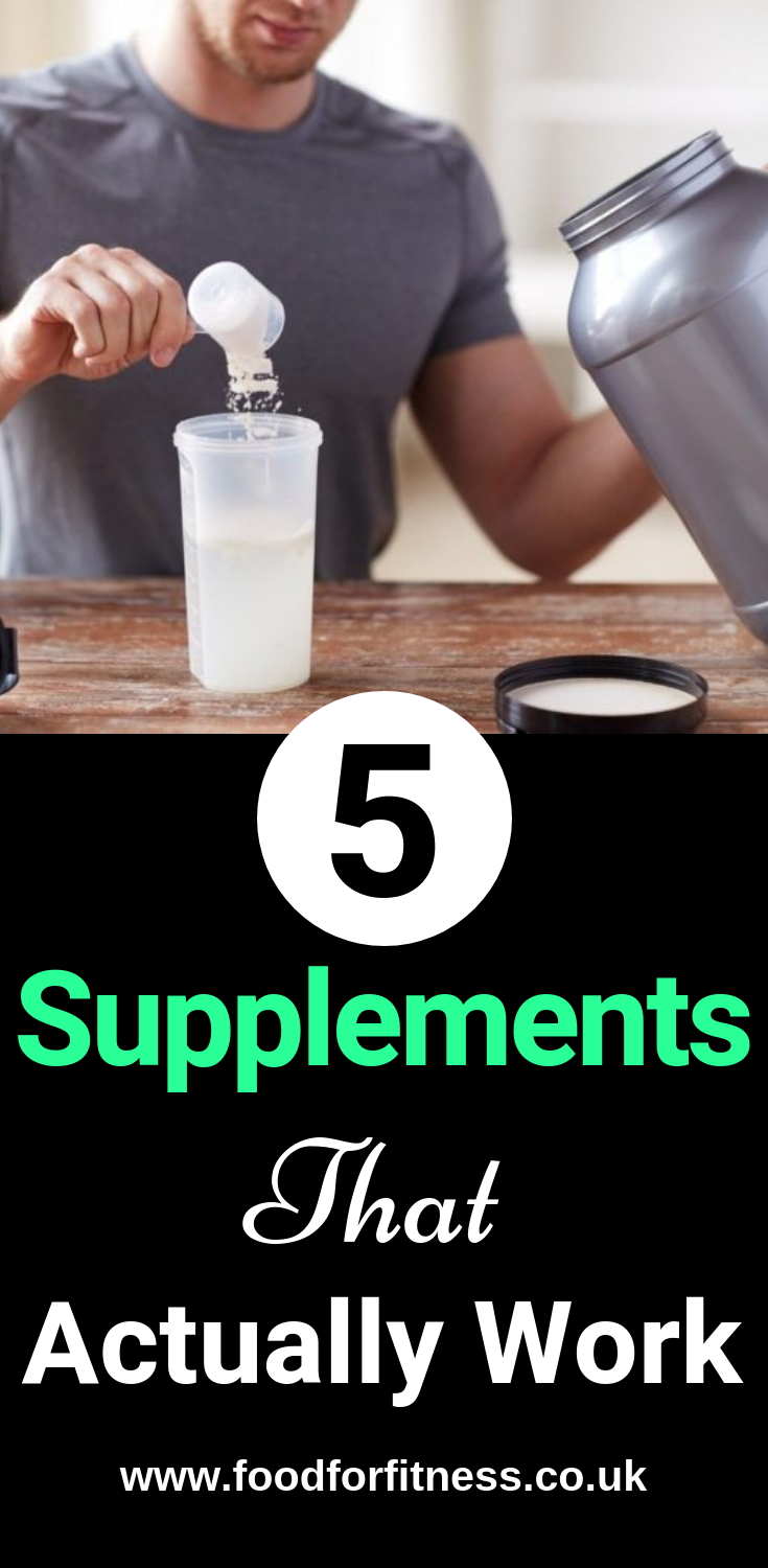 Vitamin Supplements Actually Work