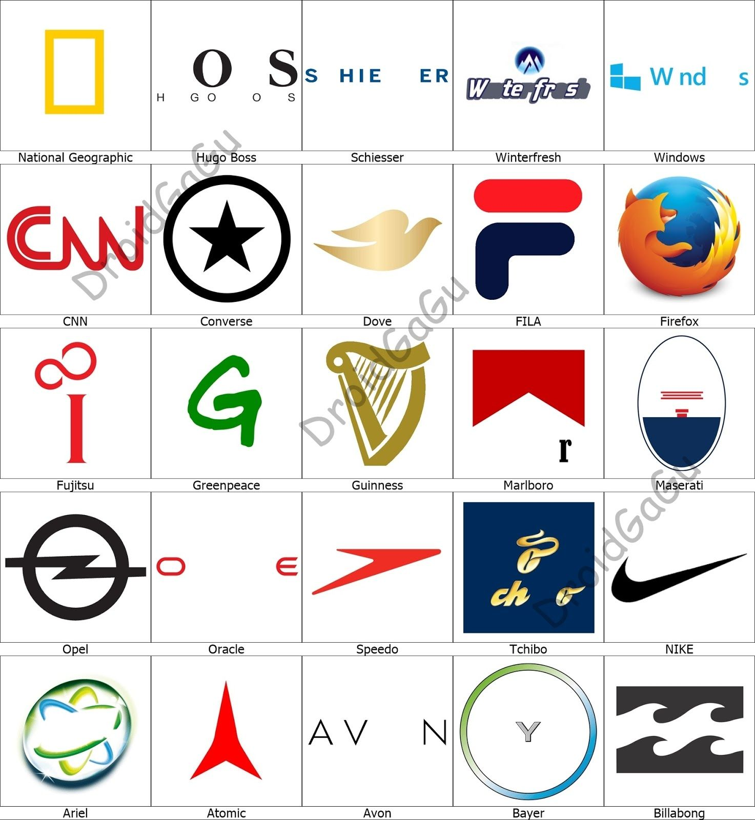 Level 3 Logo Quiz Answers Bubble Logo quiz answers