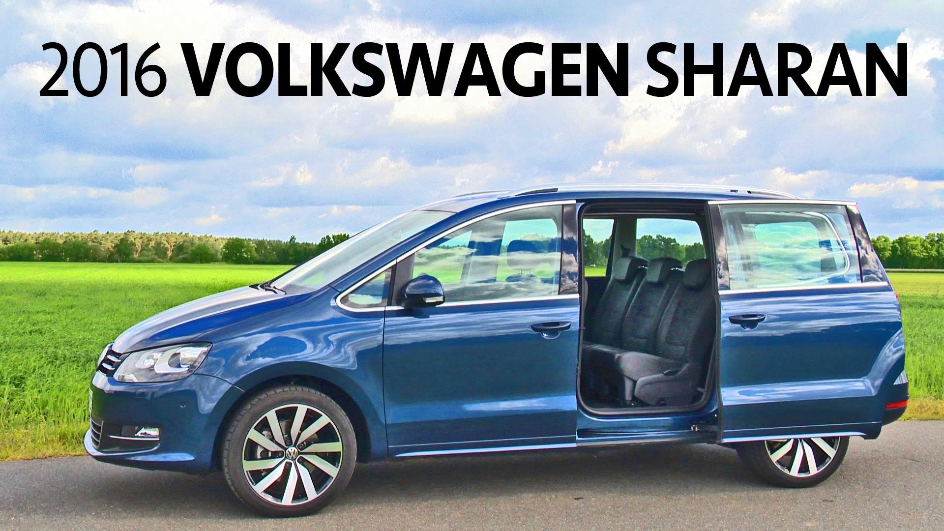2021 VW Sharan Model