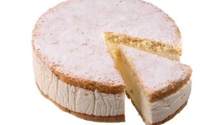 Studená tvarohová torta