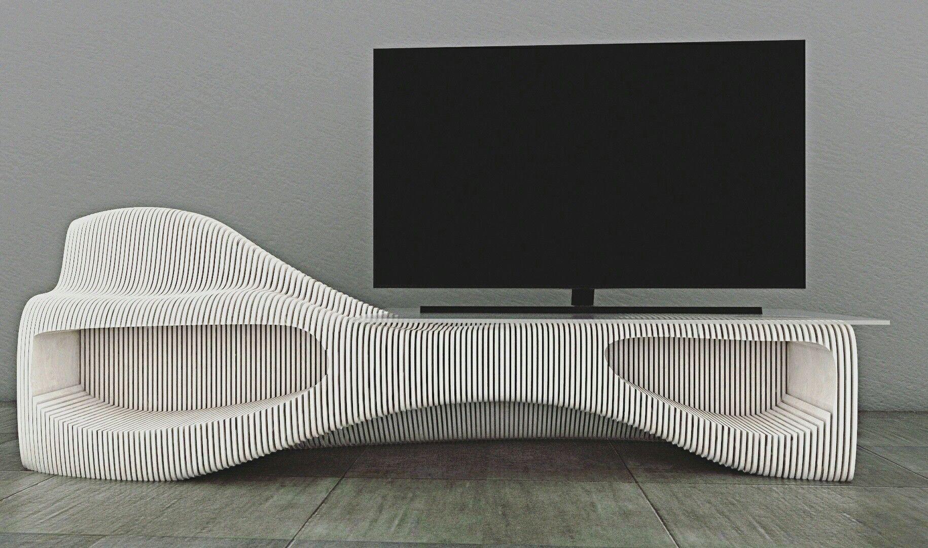 Parametric Furniture Tv Unit Design Using Grashopper