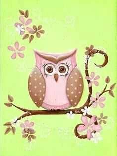 Girly Owl Phone Wallpaper