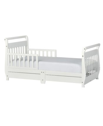 Dream On Me Sleigh Toddler Bed Reviews Furniture Macy S