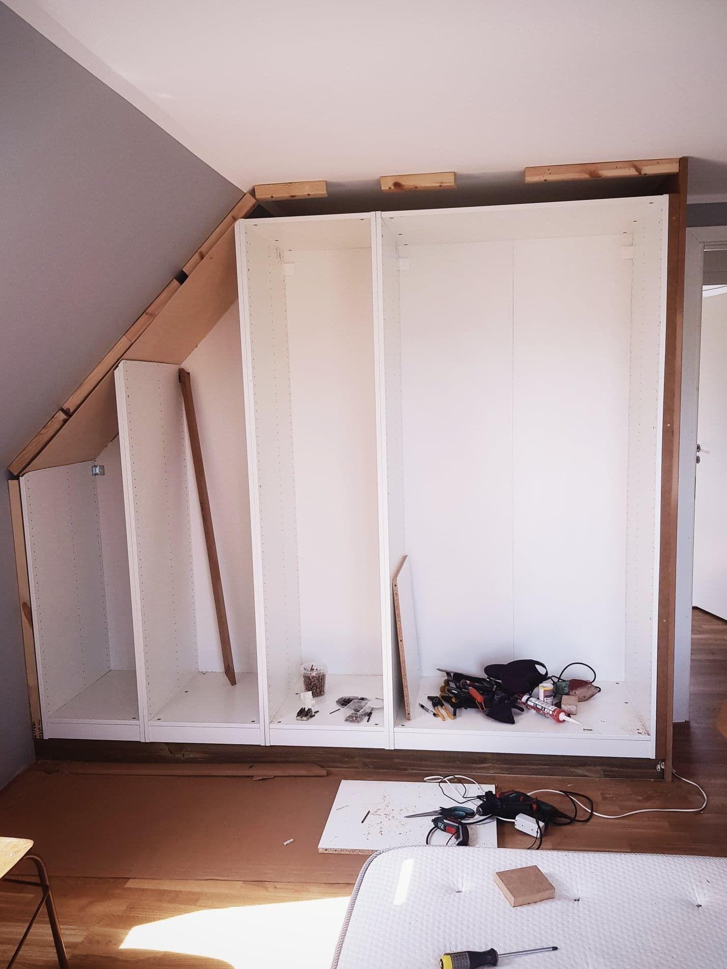 Diy Ikea Hack Fur Einbauschrank Forstadsdromme Dk Diy