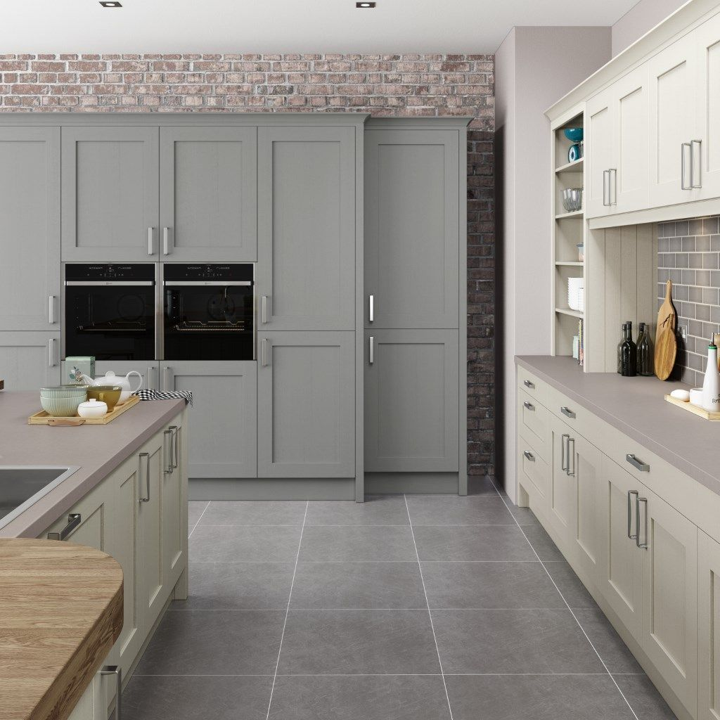 Simply Burbidge S Barnes Kitchen Painted Alabaster Pewter
