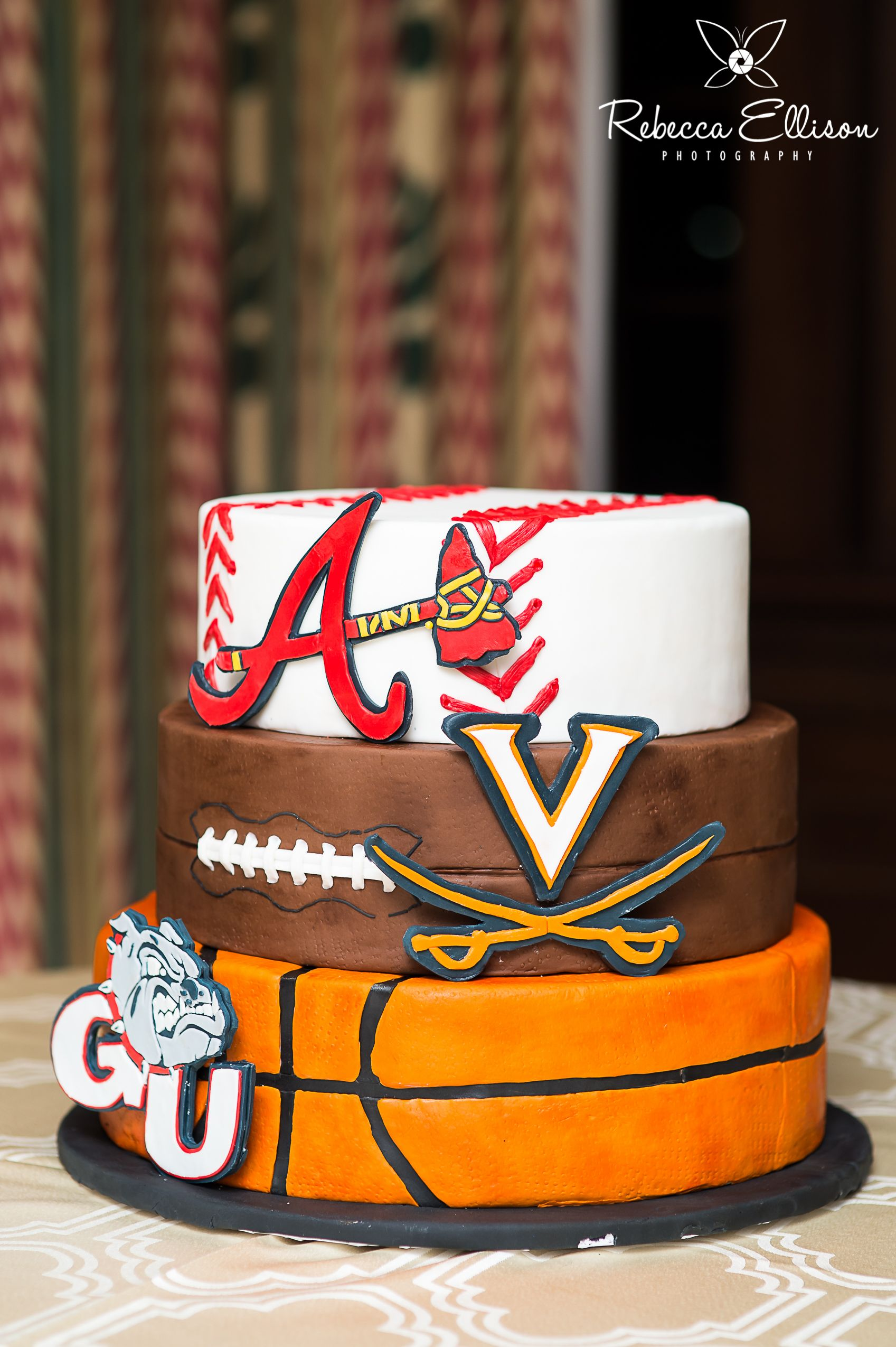 Grooms Cake Sports This One Different Teams Of Course Grooms Cake Alabama Grooms Cake Groomsman Cake