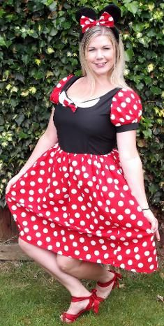 high quality handmade minnie mouse costume from only £42.99
