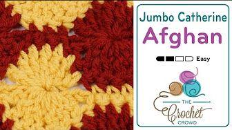 How to Crochet Catherine Diamond Stitch - YouTube