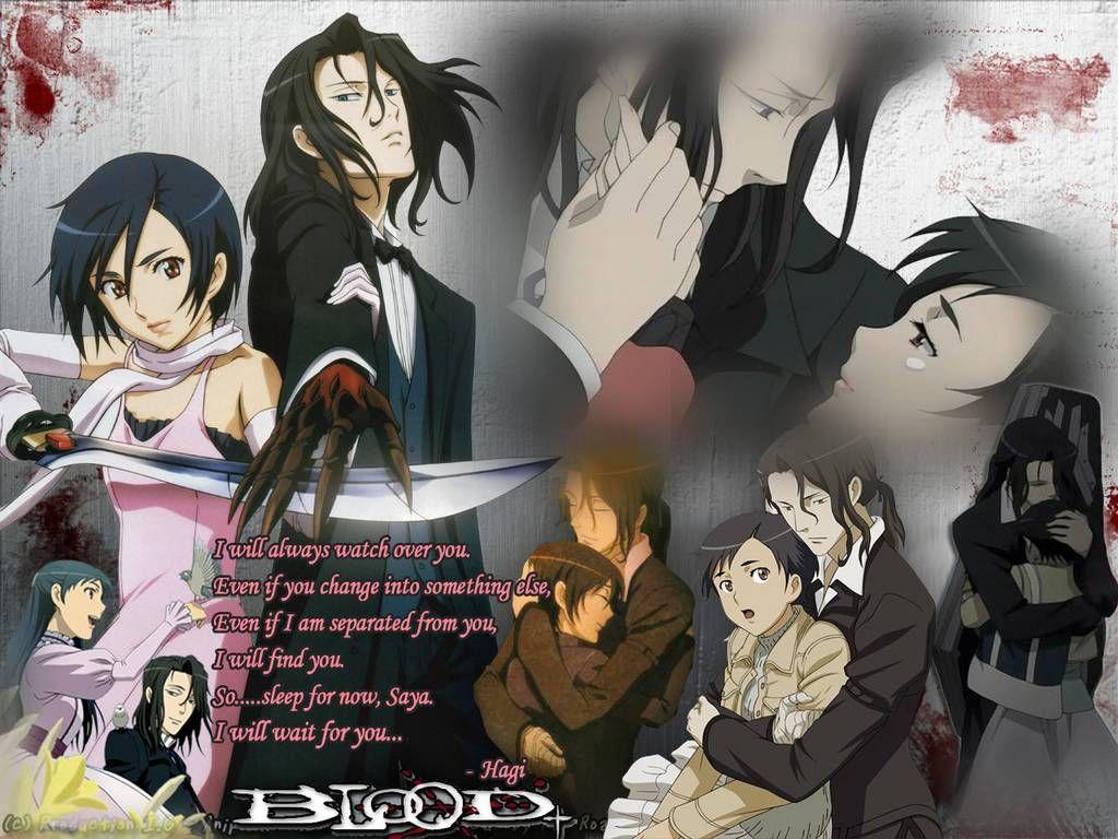 Blood Plus Saya saya and haji Blood+ Wallpaper Blood