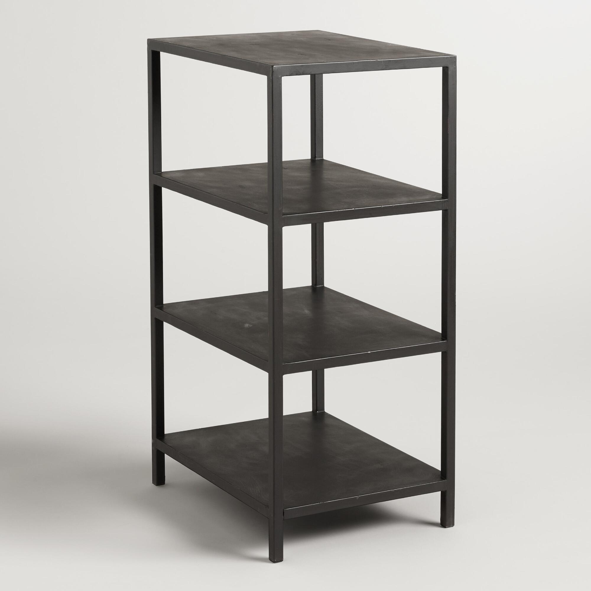 Black shelf craft height colton mix u match desk base metal