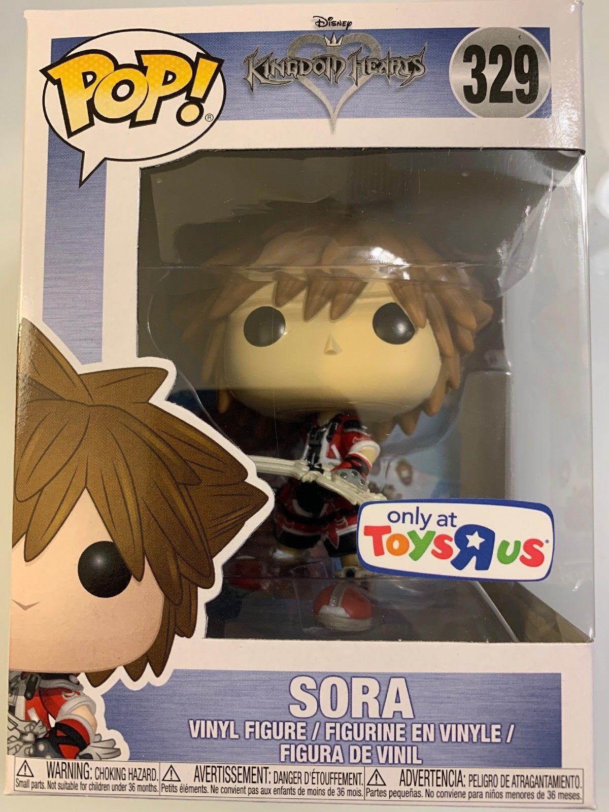 Sold Out Vaulted Funko Pop Sora Brave 329 Disney Kingdom Hearts Toys R Us Excl Disney Kingdom Hearts Disney Kingdom Funko Pop Disney